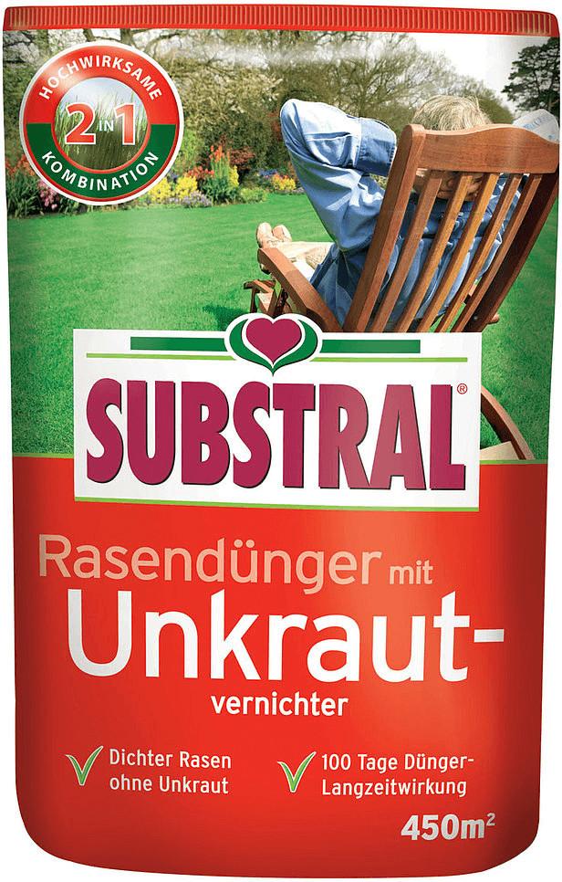 Substral Rasendünger mit Unkrautvernichter 9 kg (8227)