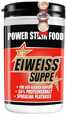 Powerstar Food Eiweiss Gemuese Suppe Pulver (400 g)
