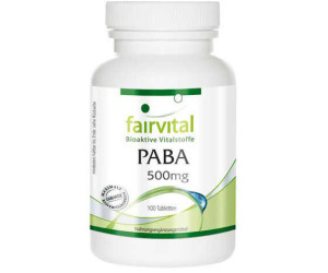Fairvital Paba 500 mg Tabletten (100 Stk.)