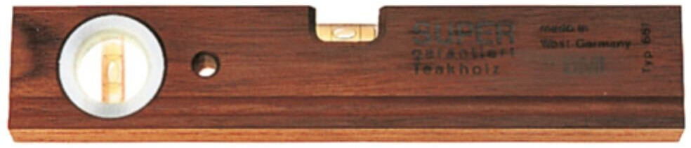 BMI Wasserwaage Teakholz - 40 cm