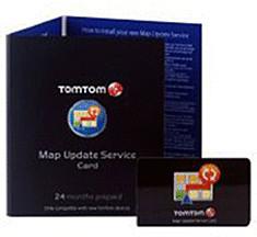TomTom Prepaid-Karte Kartenaktualisierung (24 M...