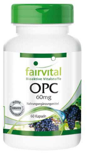 Fairvital Opc 60 mg Kapseln (60 Stk.)