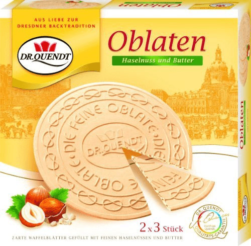 Dr. Quendt Oblaten Haselnuss (150 g)