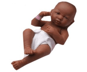 Image of Berenguer Newborn African American Girl (18507)