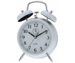 Acctim CK0027 Double Bell Alarm Clock