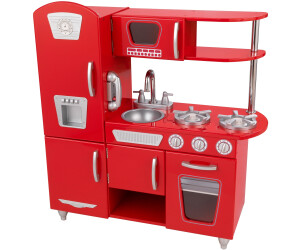 kidkraft retro-küche ab 152,95 ? | preisvergleich bei idealo.de - Kidkraft Weiße Retro Küche 53208