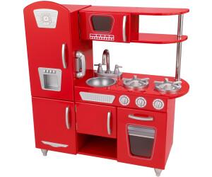 Retro Kühlschrank Rot Günstig : Kidkraft retro küche rot ab u ac preisvergleich