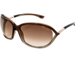 Tom Ford Damen Sonnenbrille »Jennifer FT0008«, braun, 48H - braun/braun