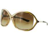 d533aadb59a4 Tom Ford Whitney FT0009 74F (transparent brown shaded transparent  rose-shiny rose gold