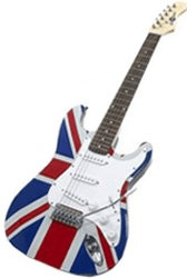 Image of Gear4music Electric-ST Union Jack