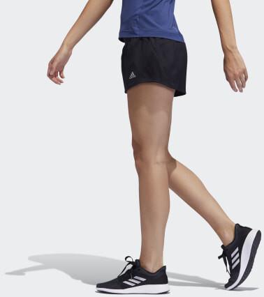 Adidas Run It 3-Streifen PB Shorts black Frauen (FP7537)