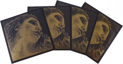#Pirastro Evah Pirazzi Gold Violn Set 4/4 G-Gold Ball-E Mittel Envelope#