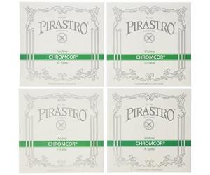 Pirastro Piranito Saitensatz 4//4 Geige//Violine E-Saite Stahl mittel