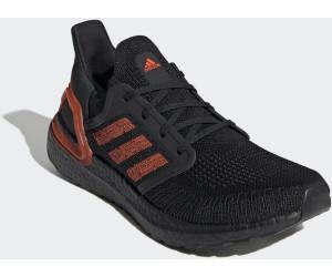 Adidas Ultraboost 20 core blacksolar redcore black elastan