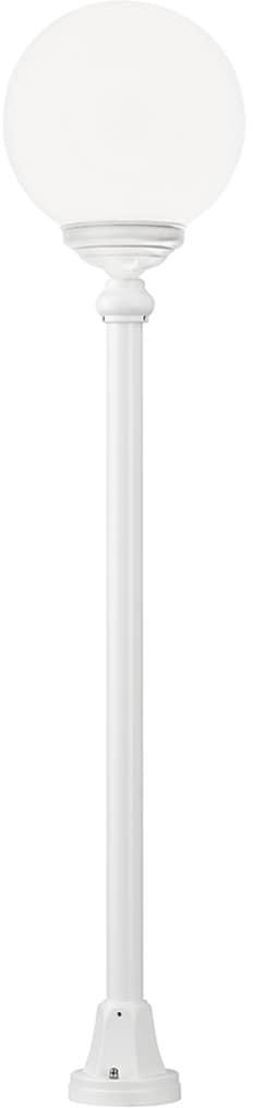 LCD Standleuchte 1132 weiß