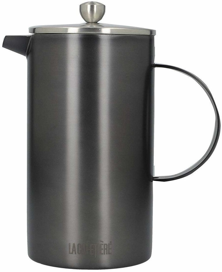Image of La Cafetiere Classic 8-Cup Double Walled Gunmetal