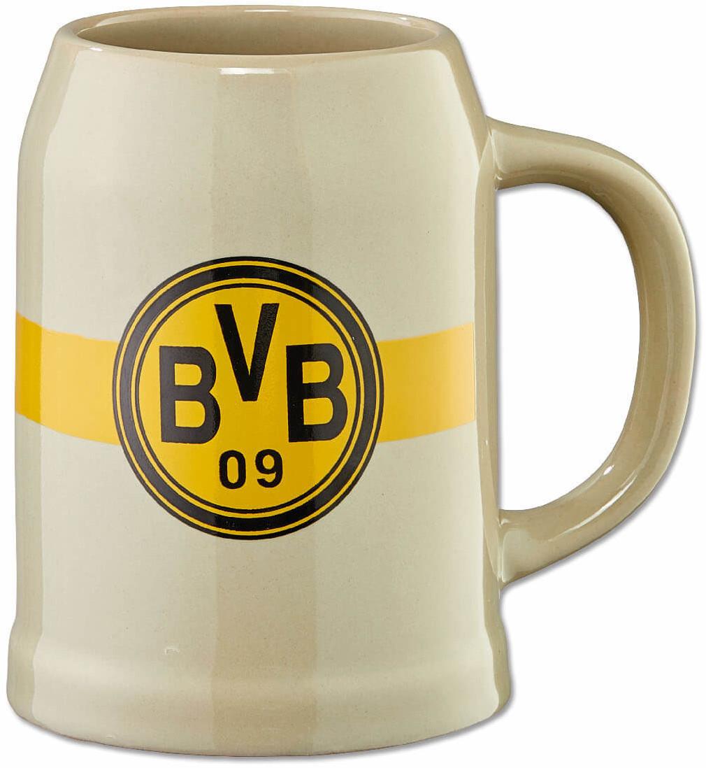 BVB Bierkrug 0,5 l  Retro Borussia Dortmund