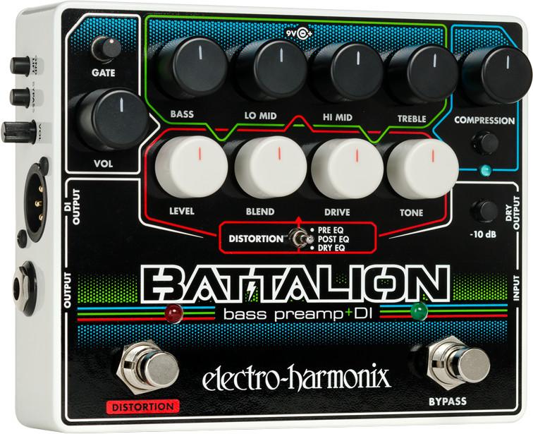 #Electro Harmonix Battalion – Bass Preamp & DI#