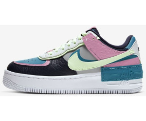 Nike Air Force 1 Shadow Womens Light Smoke GreyBarely Volt