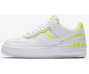 Nike Air Force 1 Shadow Women Womens White/Lemon Venom ab ...