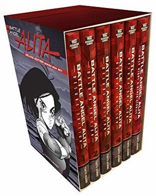 Image of Battle Angel Alita Deluxe Complete Series Box Set