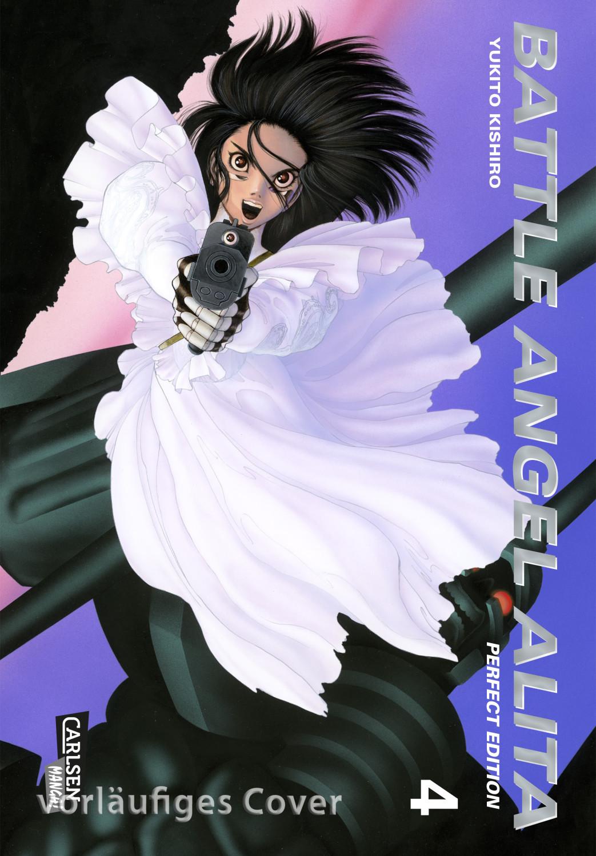 #Battle Angel Alita – Perfect Edition, Band 4 im Sammelschuber mit Extra [Taschenbuch]#
