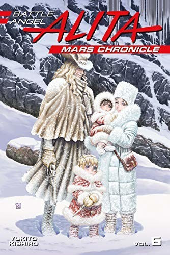 Image of Battle Angel Alita Mars Chronicle 6