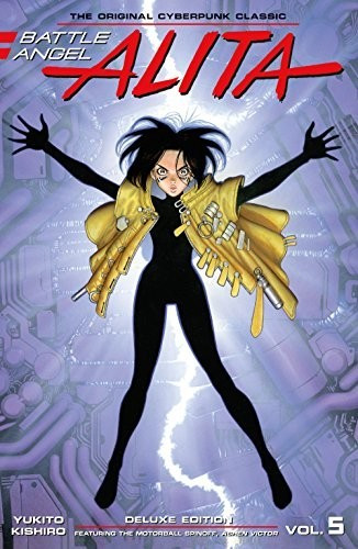 Image of Battle Angel Alita Deluxe Edition 5