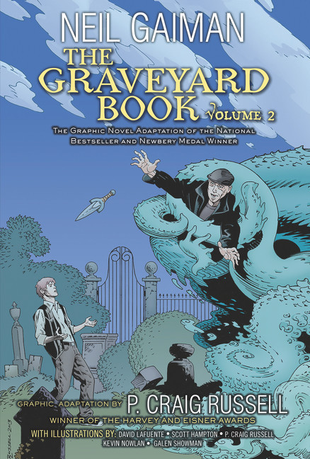Image of The Graveyard Book Graphic Novel: Volume 2 (9780062194848)