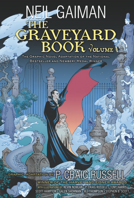 Image of The Graveyard Book Graphic Novel: Volume 1 (9780062194824)