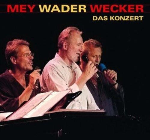 Reinhard Mey, Hannes Wader & Konstantin Wecker - Mey Wader Wecker - Das Konzert (CD)