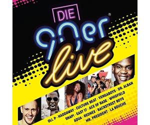 Die 90er Live (CD)