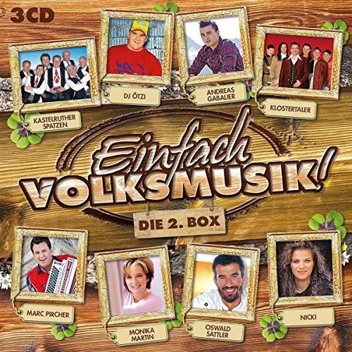 Einfach Volksmusik-Die 2.Box (CD)