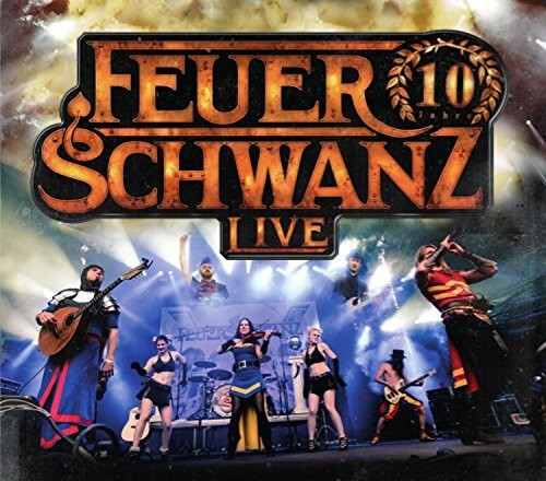 Feuerschwanz - 10 Jahre Feuerschwanz Live (CD)