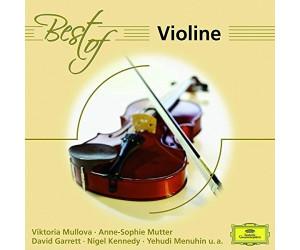 Garrett/Menuhin/Mutter/Abbado/Karajan/BP/+ - Best Of Violine (CD)
