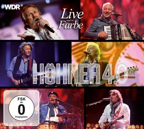 Höhner - Höhner 4.0 Live Und In Farbe (CD + DVD)