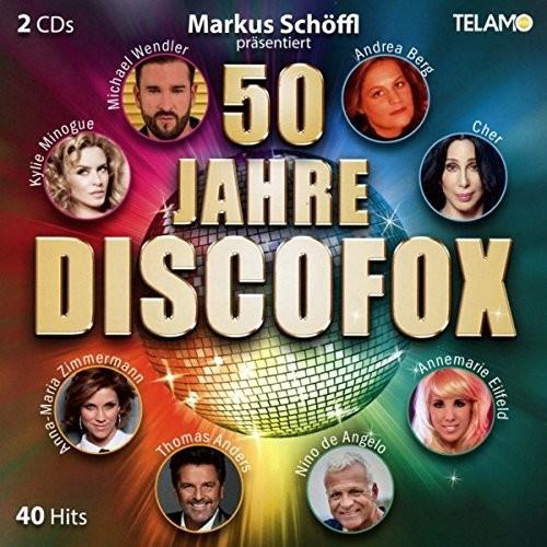 50 Jahre Discofox (CD)