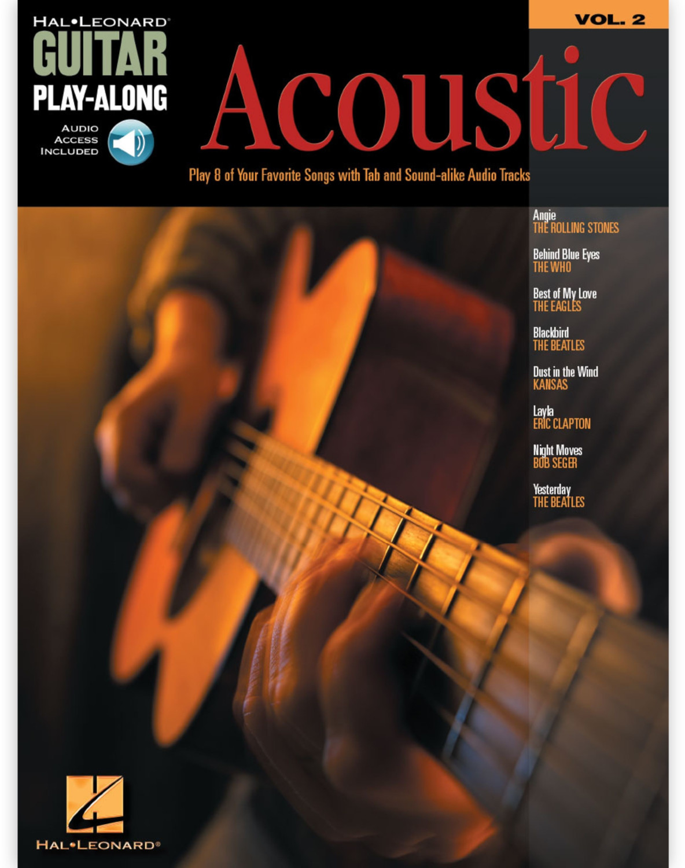 Image of Hal Leonard Acoustic Guitar Play-Along Volume 2