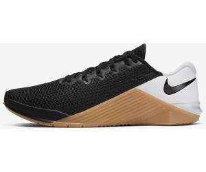 Me sorprendió Planificado trolebús  Buy Nike Metcon 5 Black/White/Gum Medium Brown/Black from £109.99 (Today) –  Best Deals on idealo.co.uk