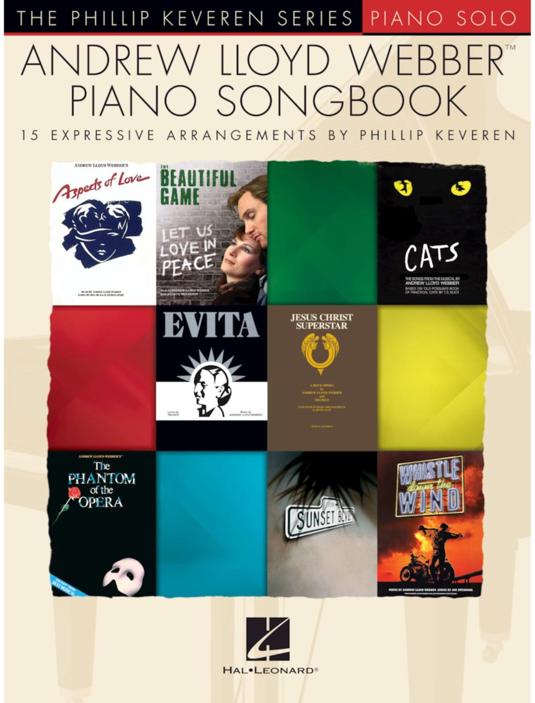 Image of Hal Leonard Andrew Lloyd Webber Piano Songbook - The Phillip Keveren Series