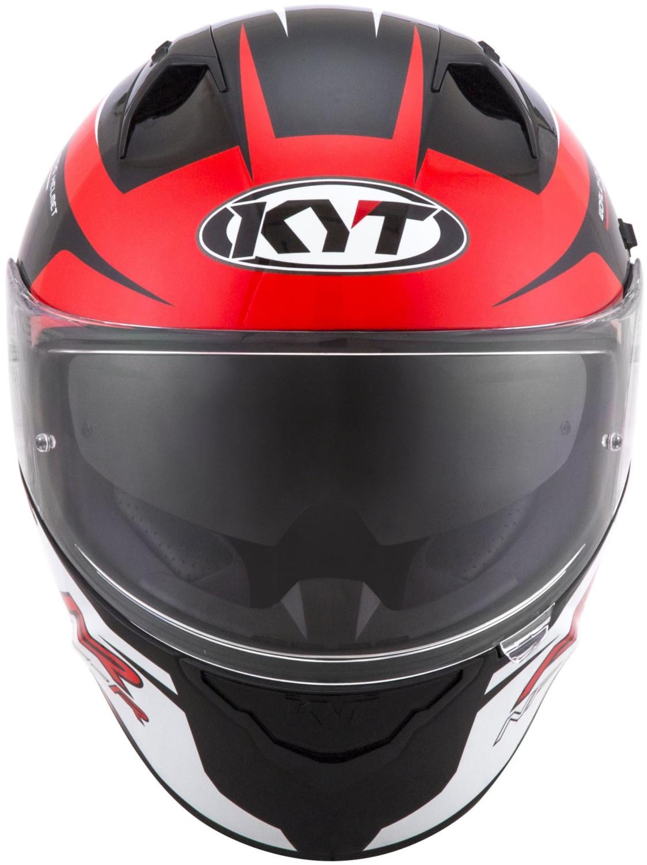 Image of KYT Helmet NF-R Track Red