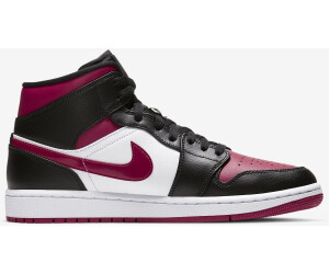 Nike Air Jordan 1 Mid blackwhitenoble red a € 111,00