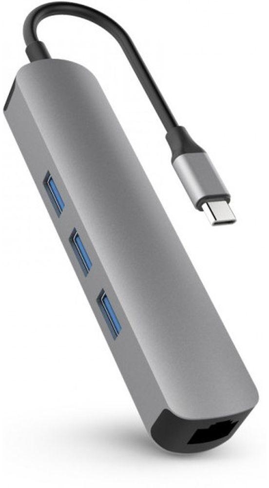 Image of Hyper HyperDrive Tube 6-in-1 USB-C Gray