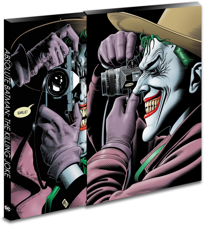 Image of Absolute Batman: The Killing Joke (30th Anniversary Edition) (9781401284121)