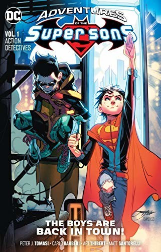 Image of Adventures of the Super Sons Vol. 1: Action Detectives (9781401290580)