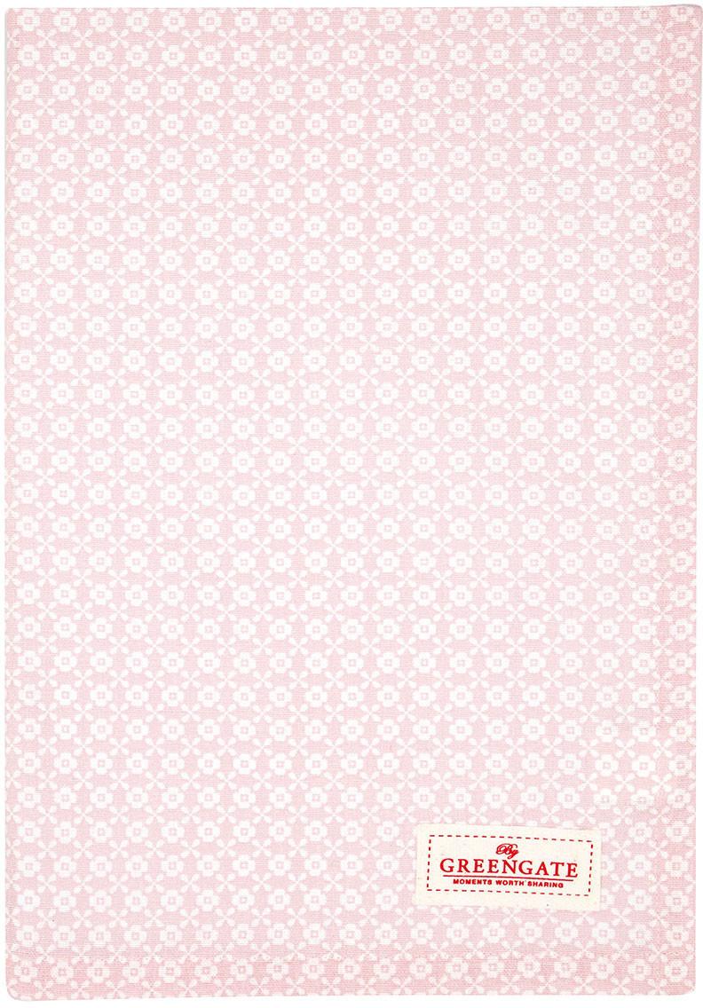 Greengate Helle Geschirrtuch pale pink 70 x 50 cm