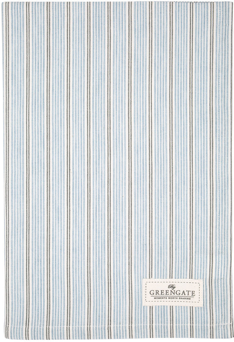 Greengate Tova Geschirrtuch pale blue 50 x 70 cm
