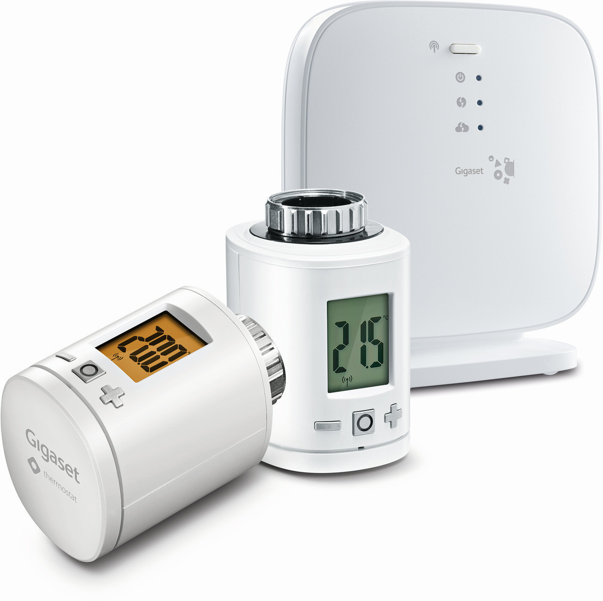 Gigaset elements Heating Pack (1x Gigaset Base + 2x Thermostat)