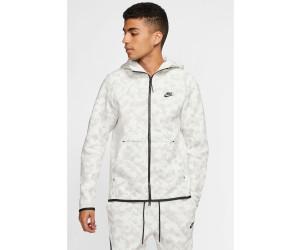 Buy Nike Men S Full Zip Hoodie Tech Fleece Printed Summit White Black From 84 99 Today Best Deals On Idealo Co Uk