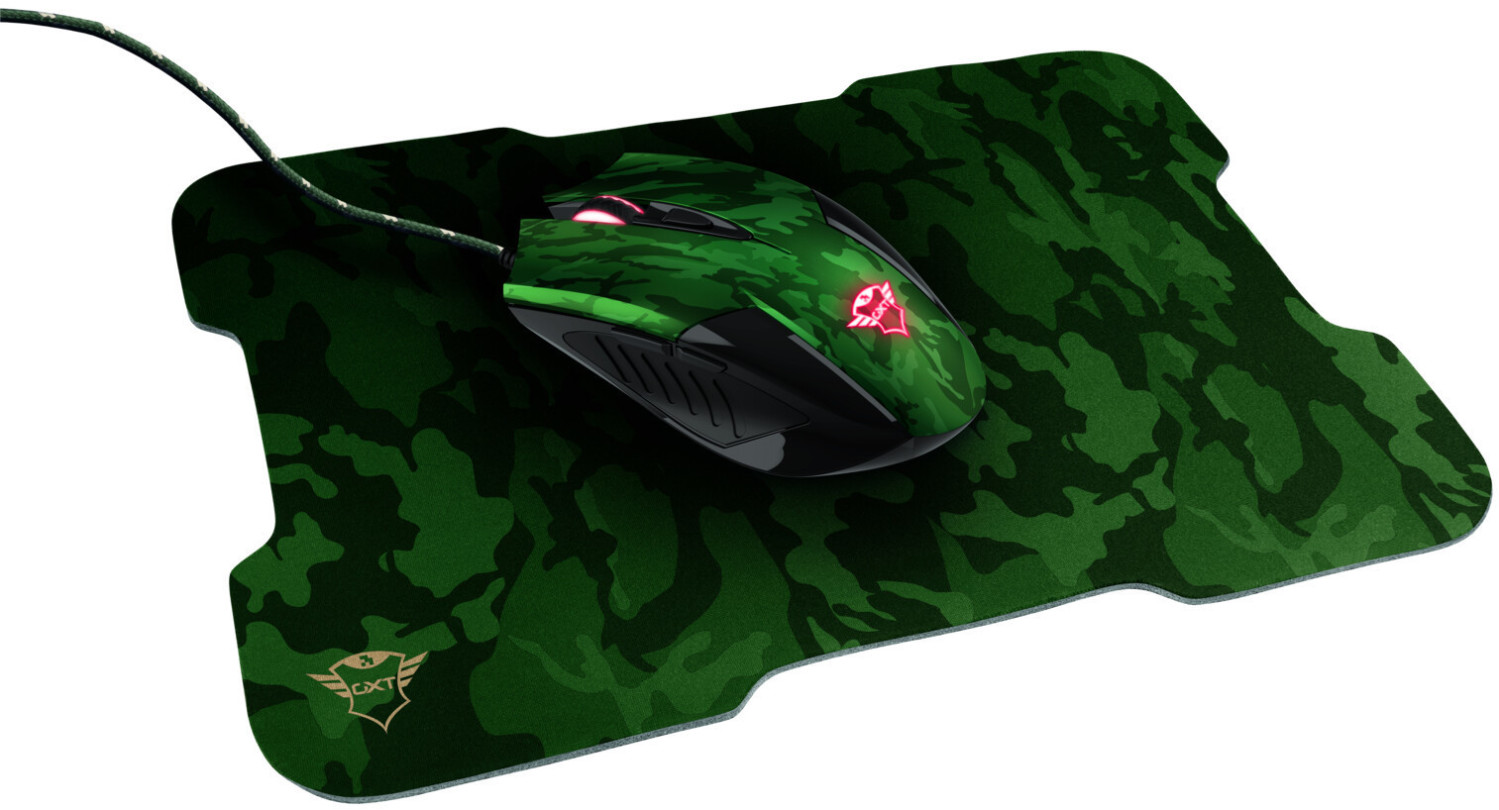 Image of Trust GXT 781 Rixa Camo Gaming Mouse & Mouse Pad